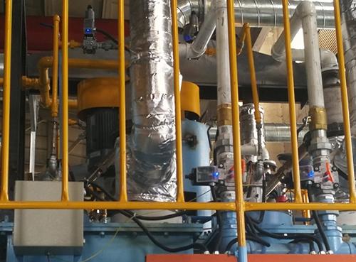 常熟密封箱式多用炉生产线